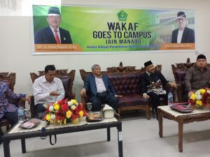 Wakaf goes to Campus